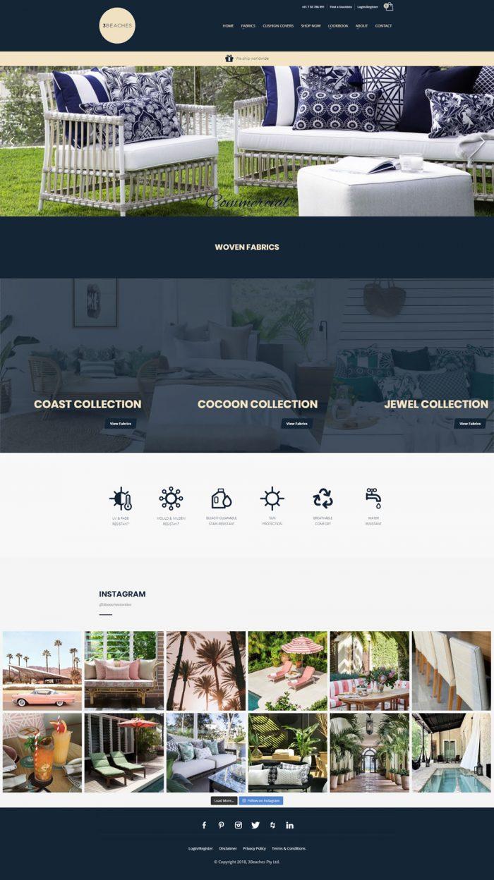3Beaches Homepage